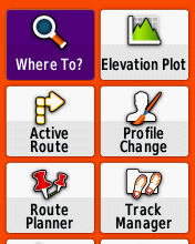 garmin etrex 30 how to bring up street maps